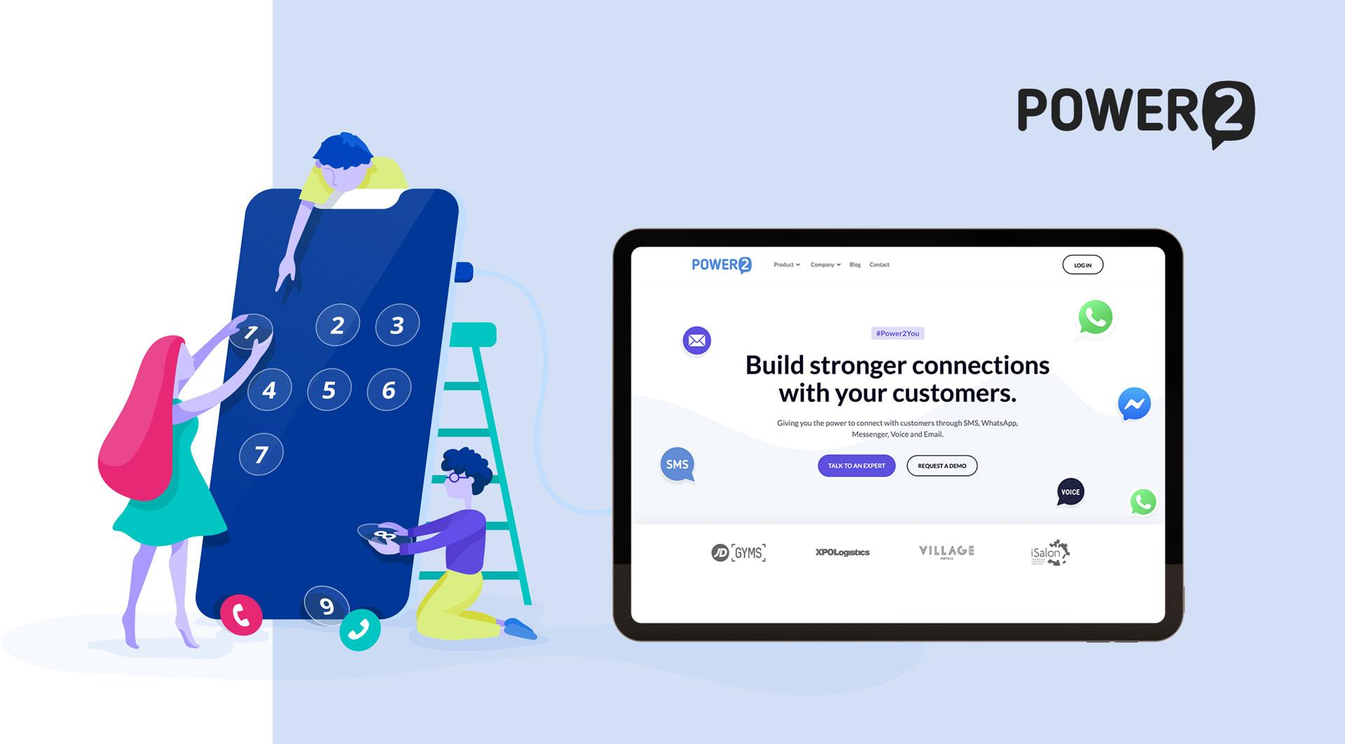 SMS platform for Power2