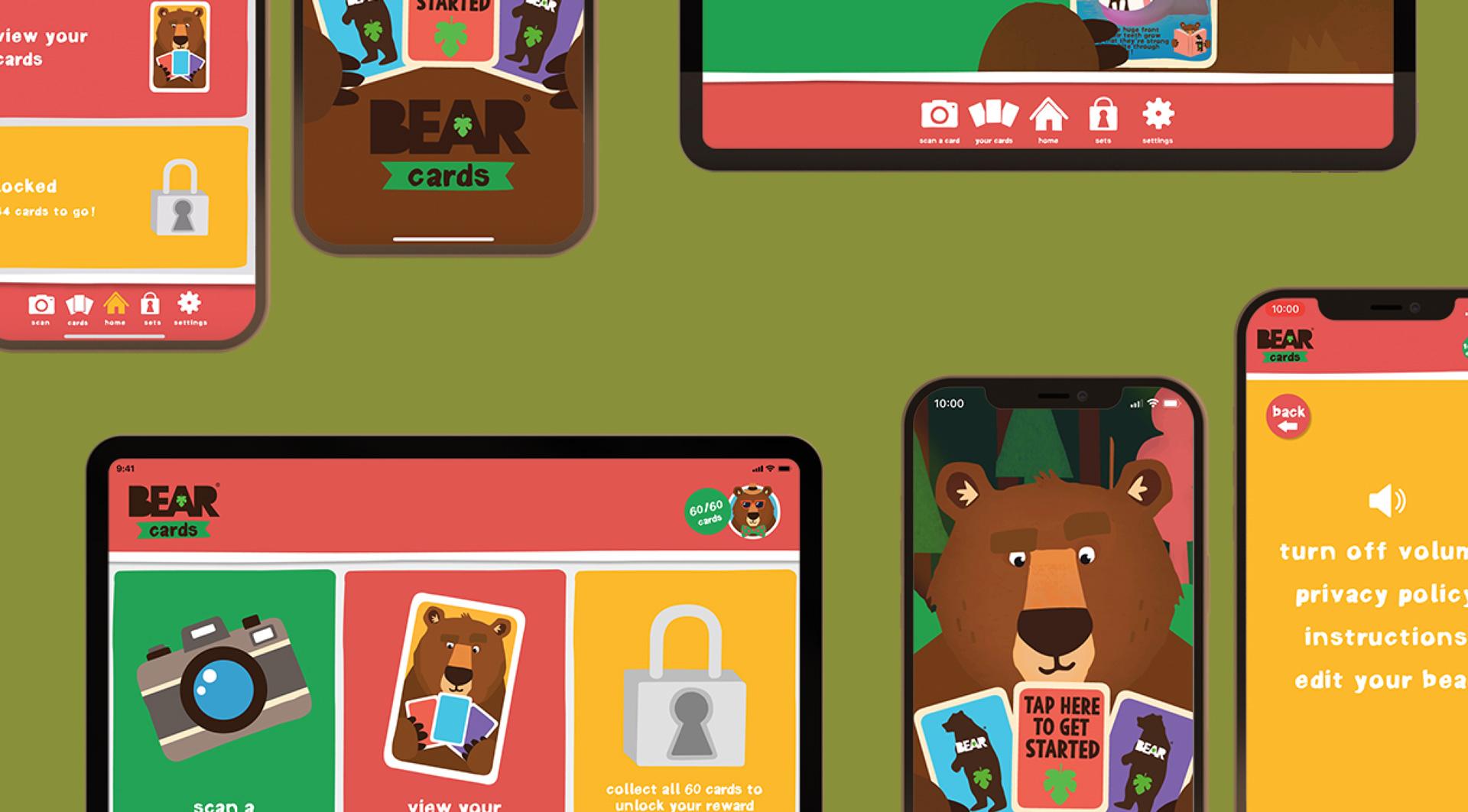 App development for BEAR Snacks