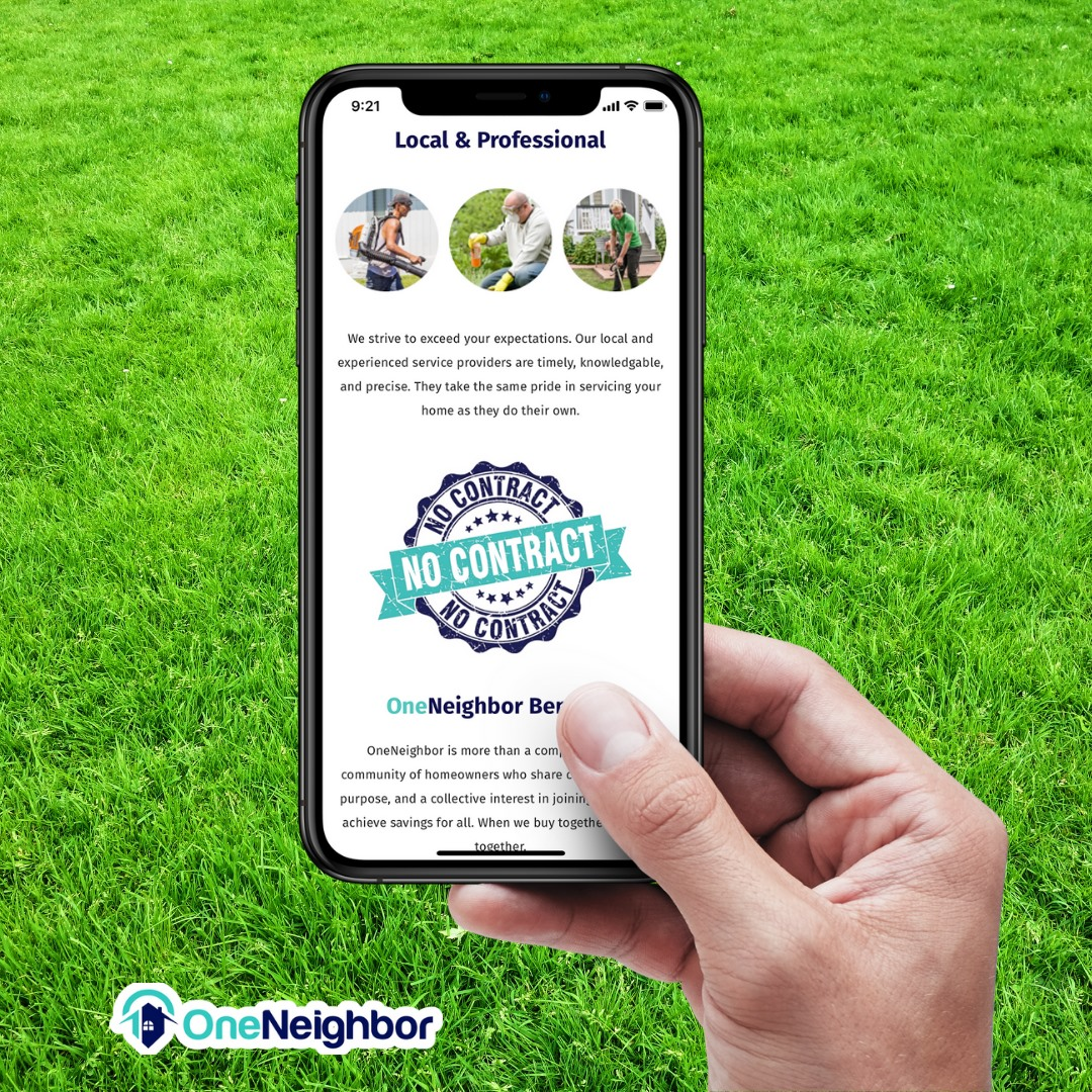 OneNeighbor App Uses AI, Group Purchasing, and Colocation Technology to Transform the Outdoor Home Services Market