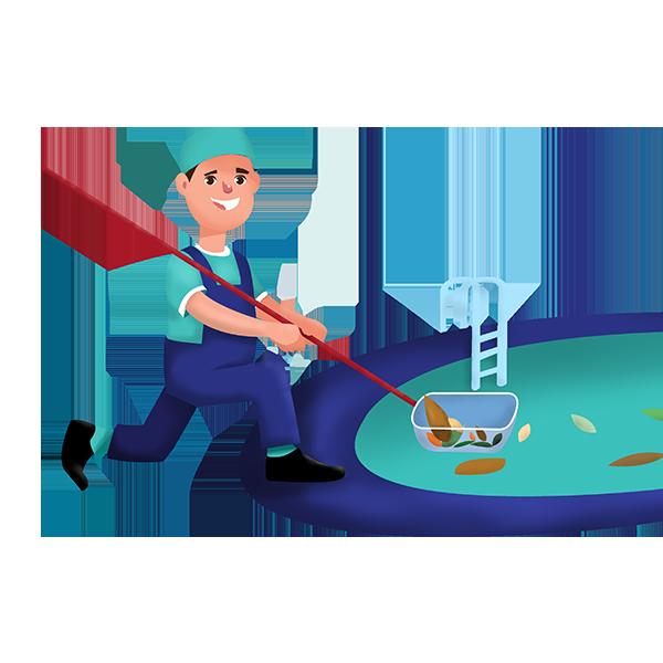 Pool Cleaning Service in Frisco, Plano, Allen, McKinney, TX