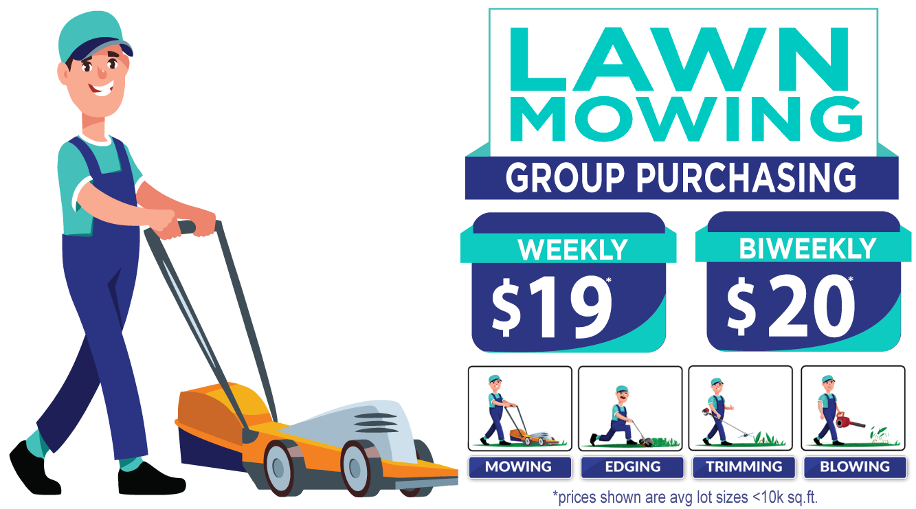 How OneNeighbor Works- Lawn Mowing & Pool Cleaning Service in Frisco, Little Elm, Lewisville, Carrollton, Richardson, and Mckinney