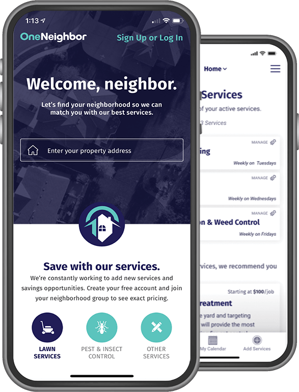 OneNeighbor Mobile App is Available in the Apple App Store and in Google Play.