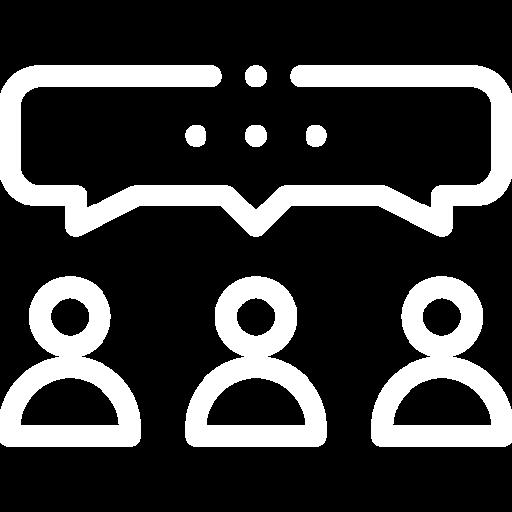 Group Talking Icon