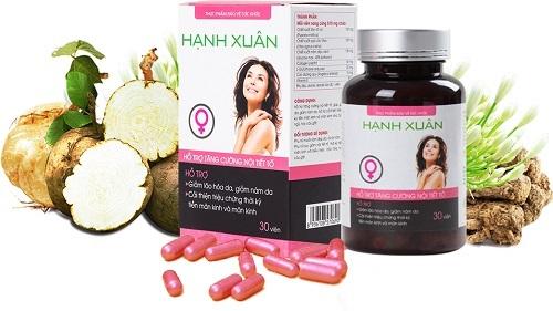 3.Hạnh Xuân - vên uống tăng nội tiết tố nữ của Việt Nam