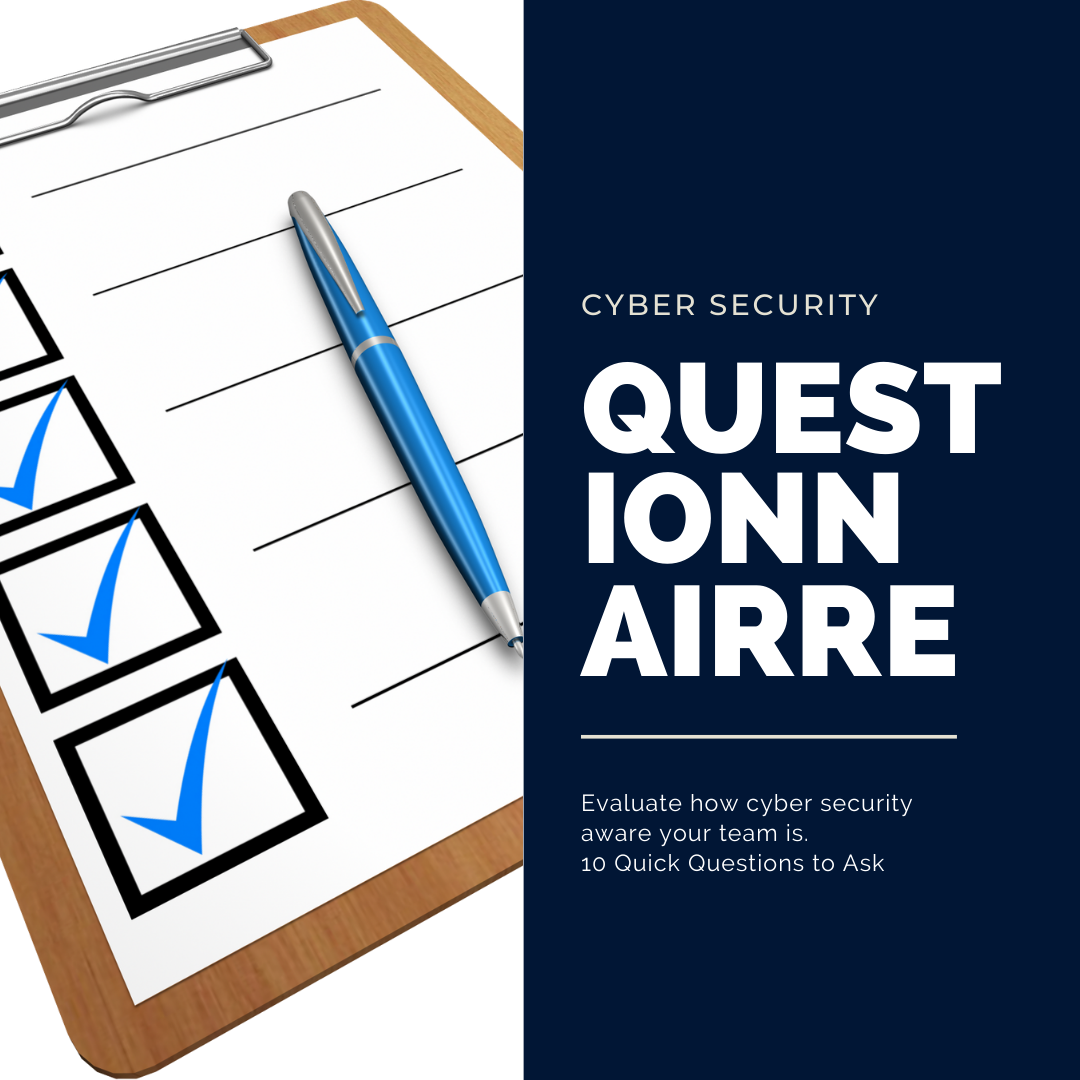 Cyber Security questionnaire