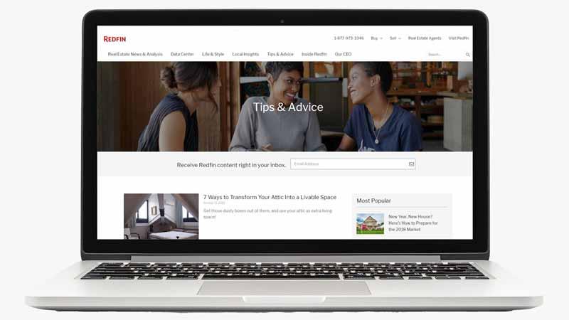 Website (Redfin)