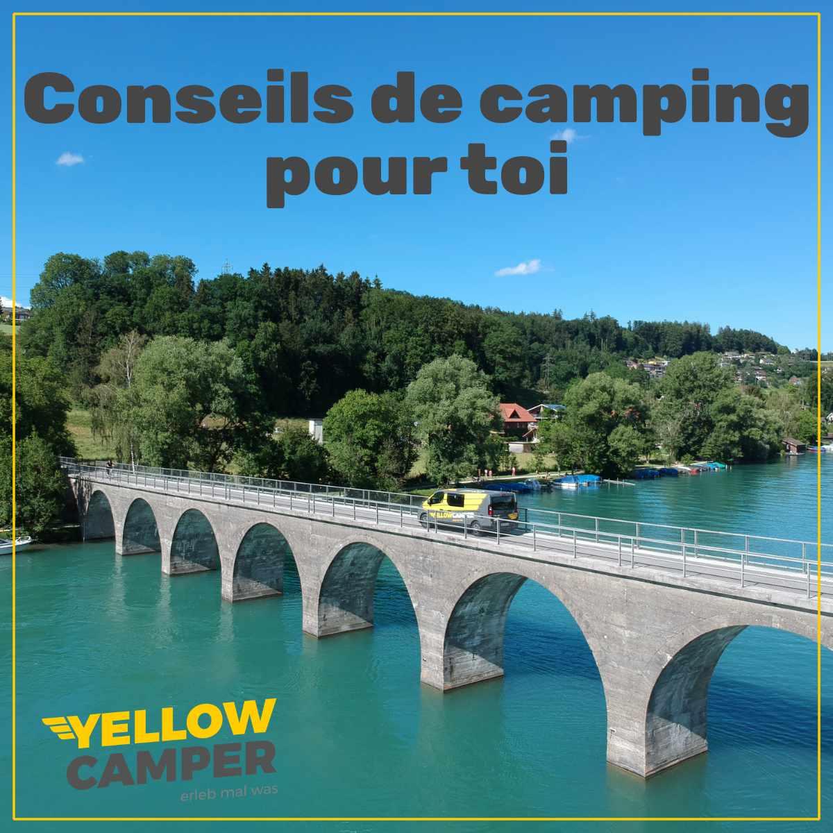 Où tu peux encore aller avec le camping-car !