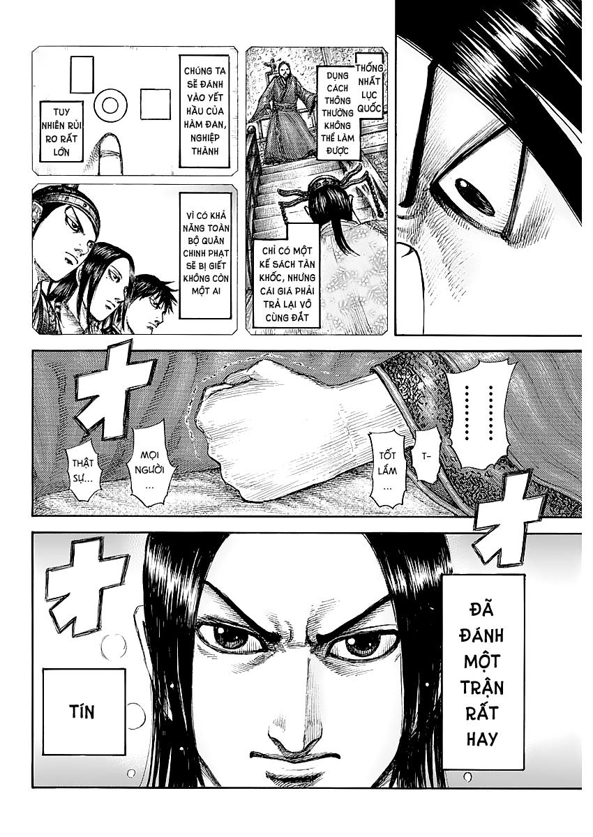 Kingdom - Vương Giả Thiên Hạ chap 639 - Trang 13