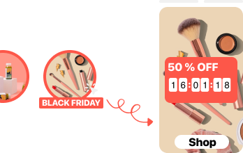 Black Friday Cyber Monday Sales Popup