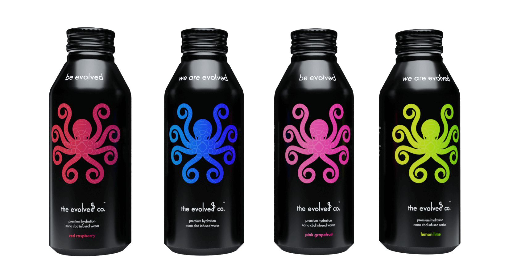 cbd infused superior hydration water bottle flavours