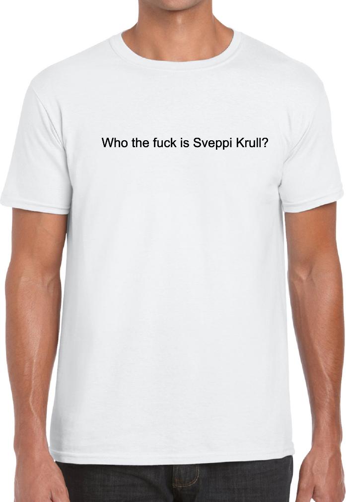 Who the fuck is Sveppi Krull?