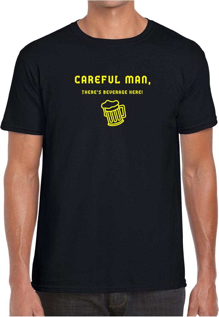 Careful man