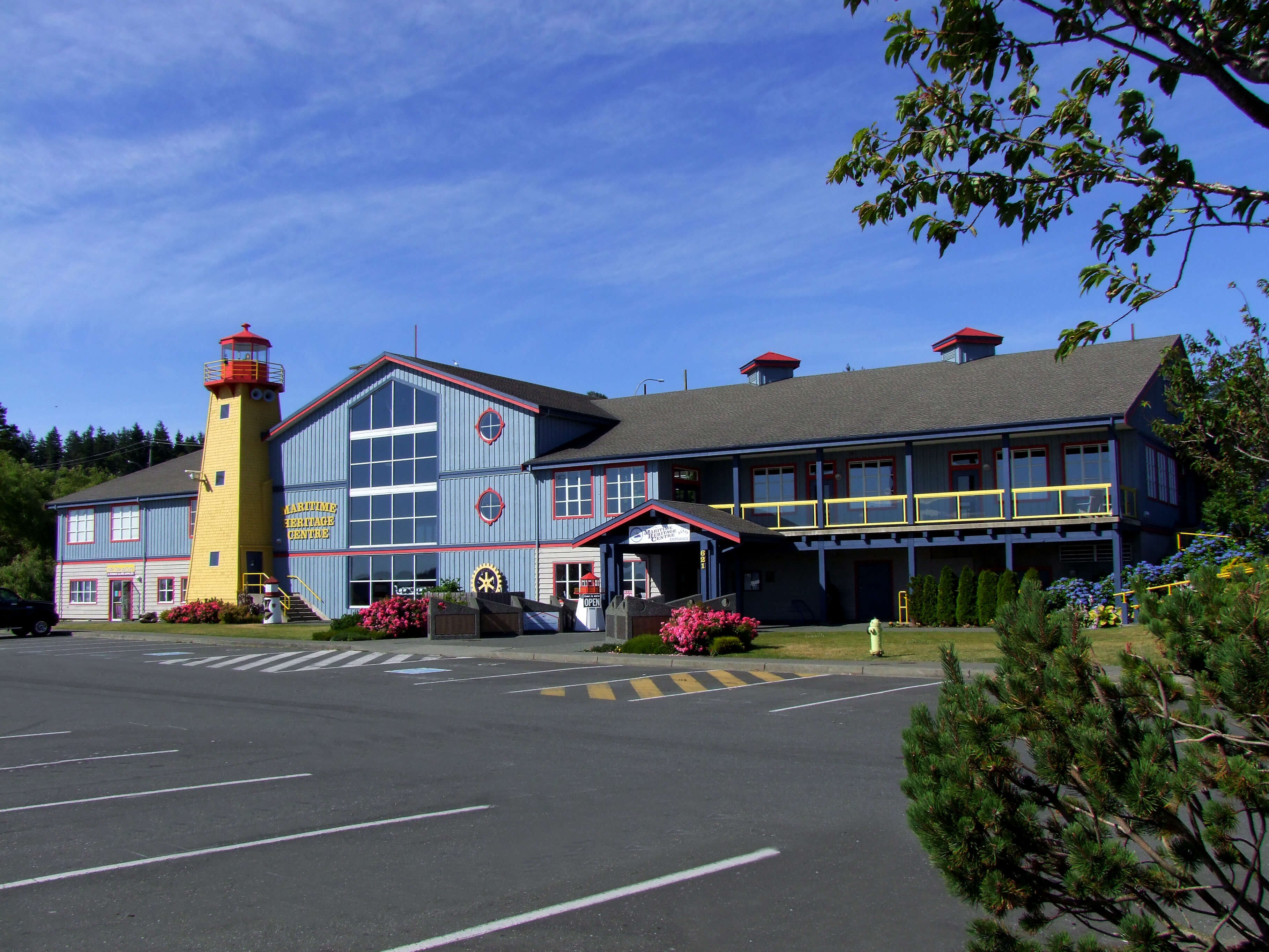 front photo of the Maritime Heritage Centre
