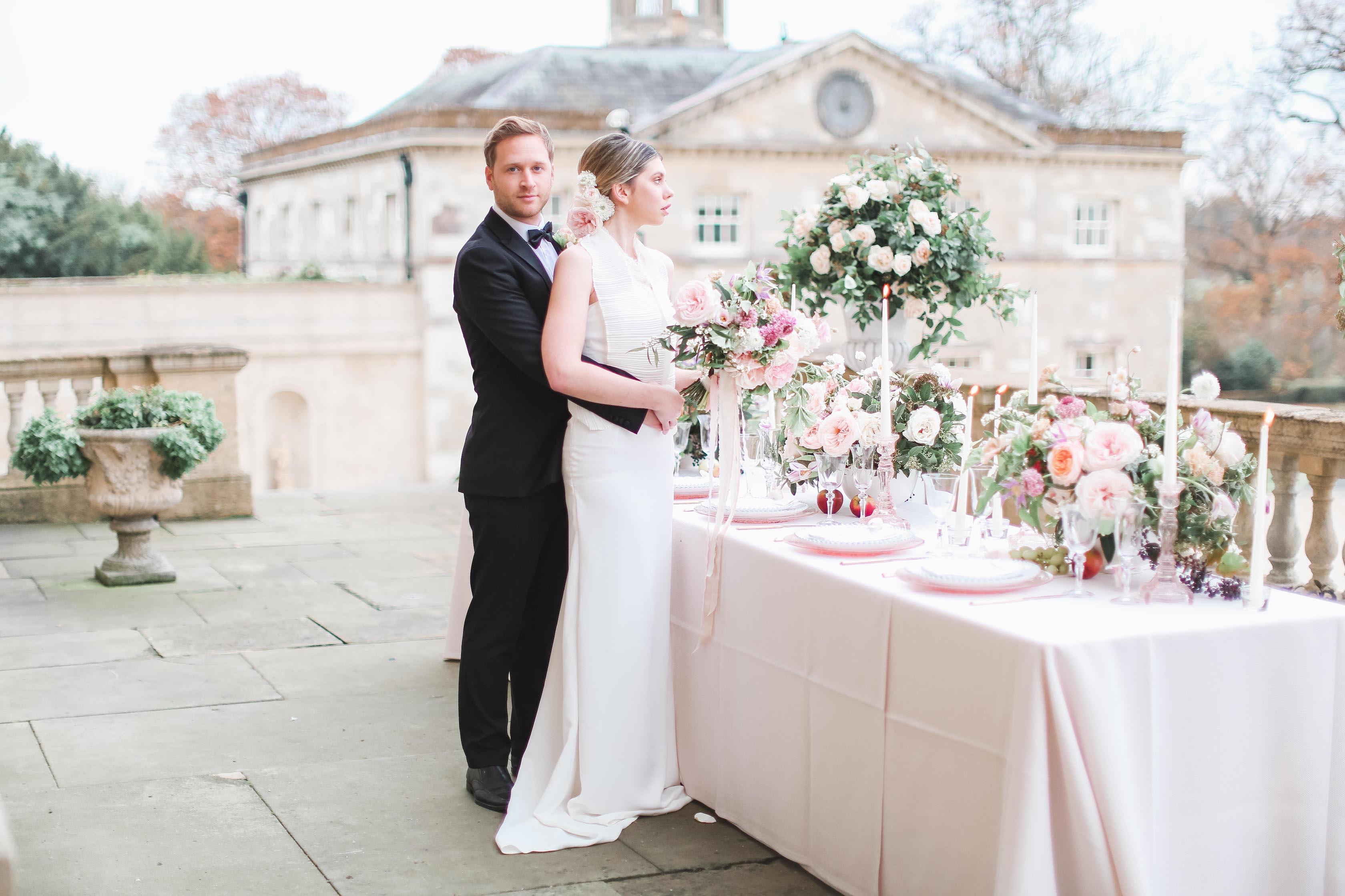 Bride and Groom - Kirtlington Park