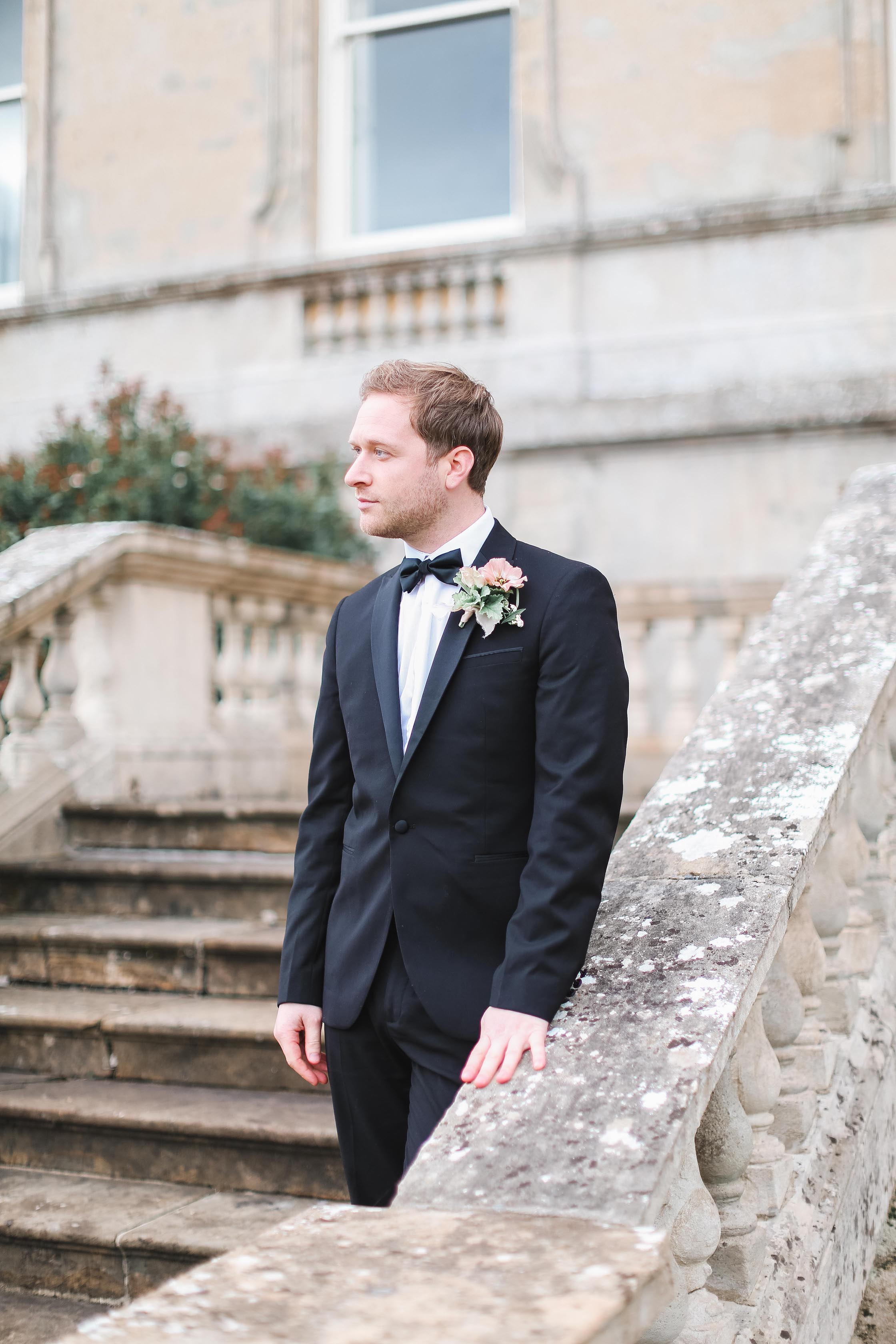 Groom - Buttonhole - Kirtlington Park