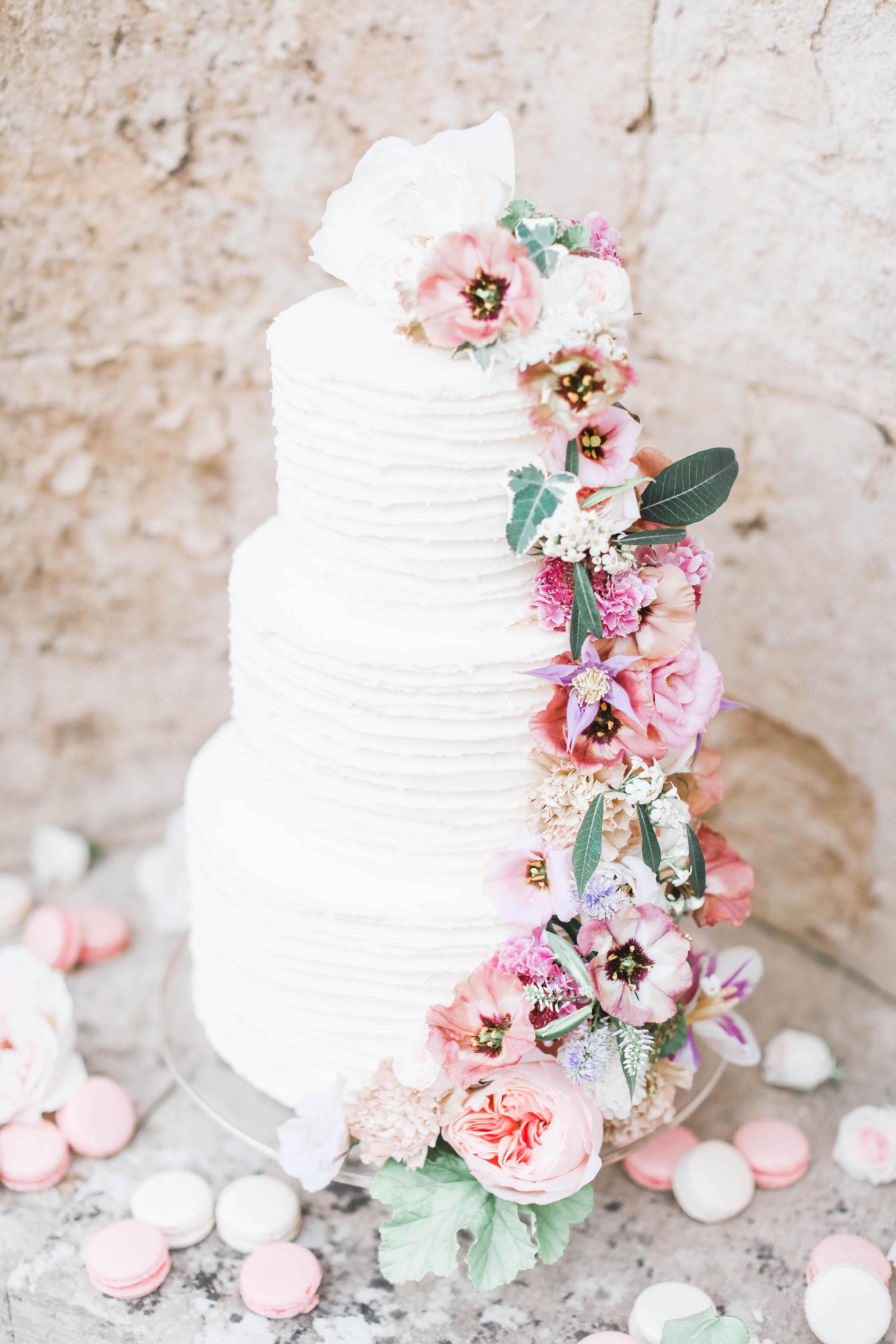 Anemone Cake Flowers - Blush Flowers - Cake Design