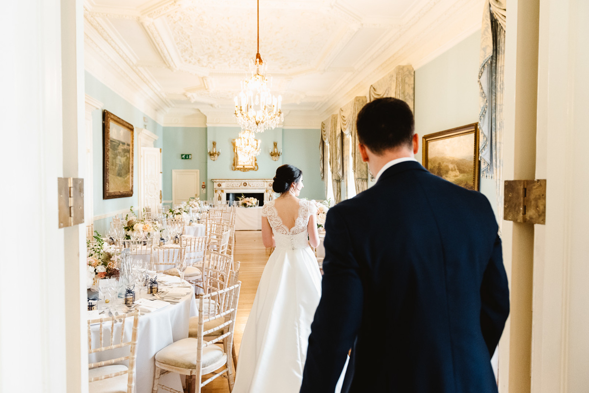 Bride and Groom in Dartmouth House