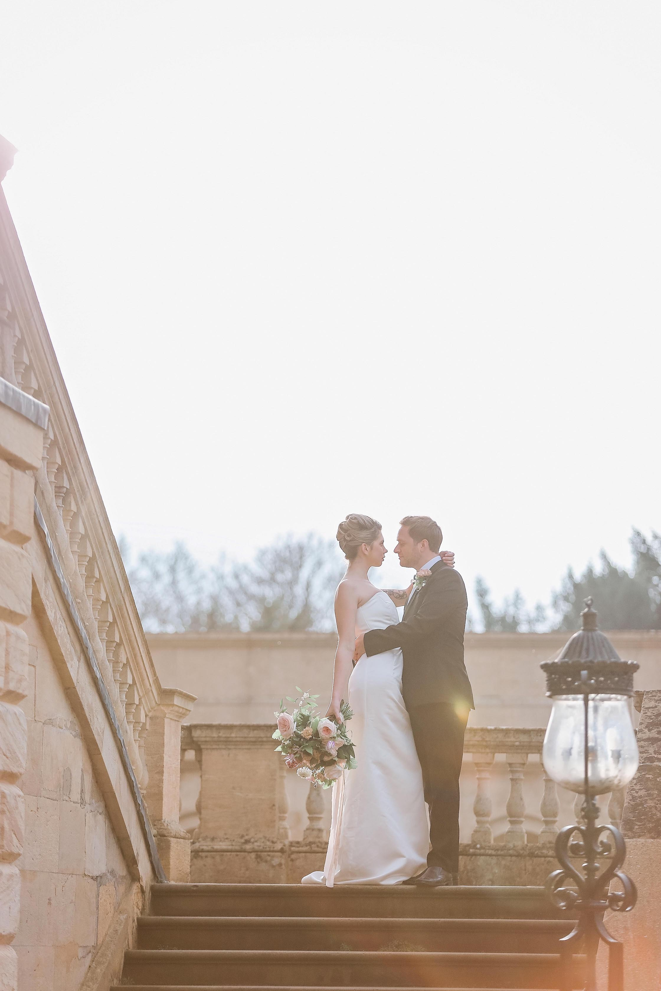 Bride and Groom - Kirtlington Park