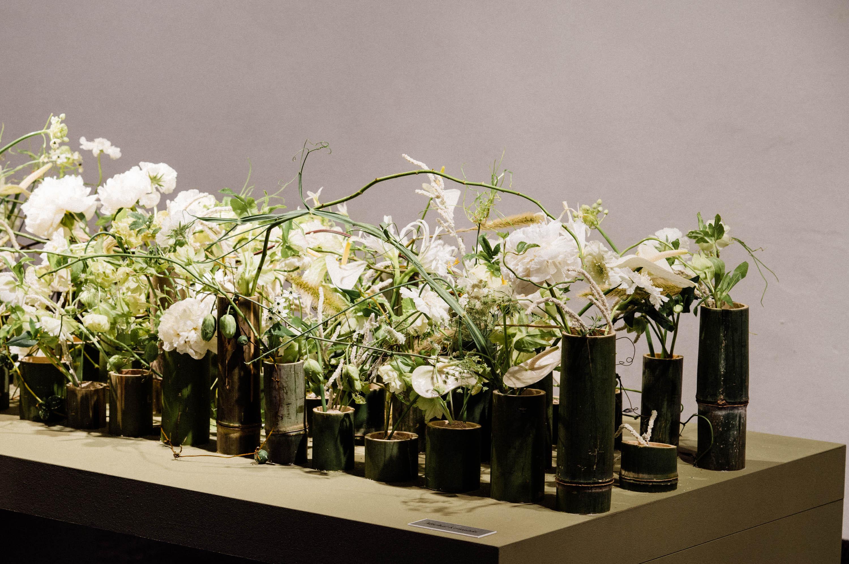 Bamboo Flower Arrangement