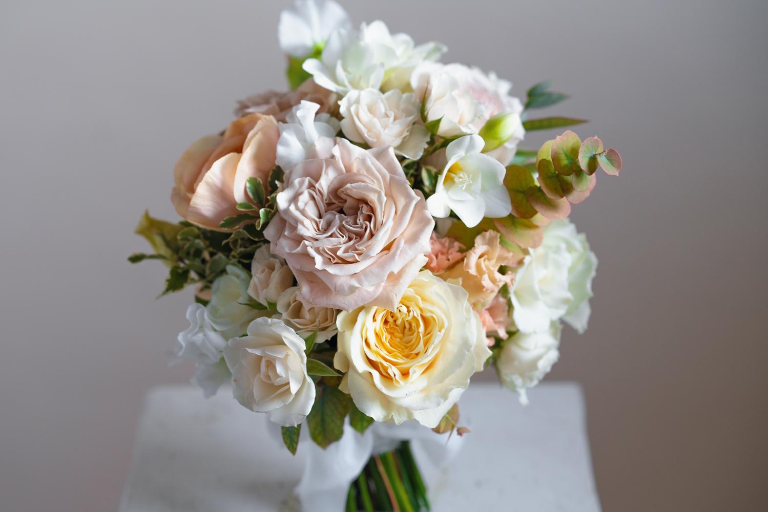 Classic Round Wedding Bouquet