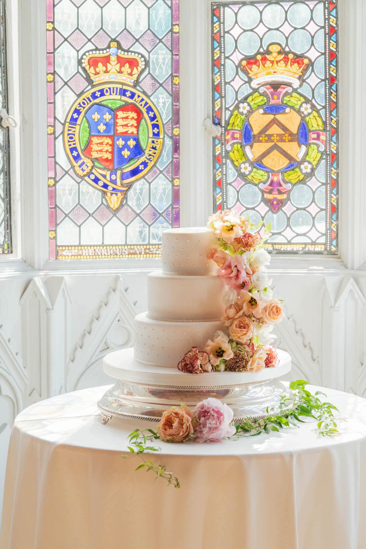 Strawberry Hill House Wedding Cake