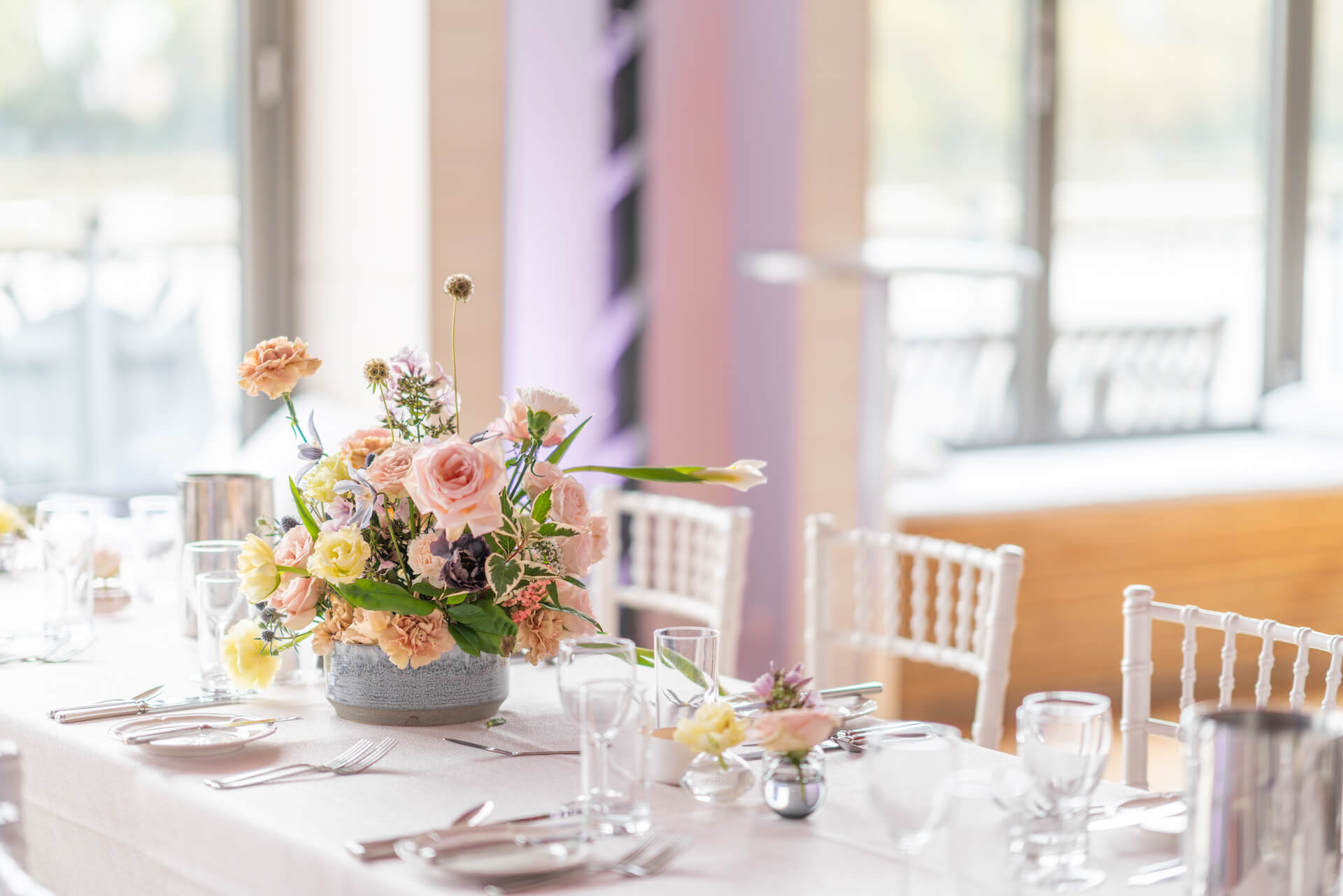 Thames Rowing Club London Wedding Florist