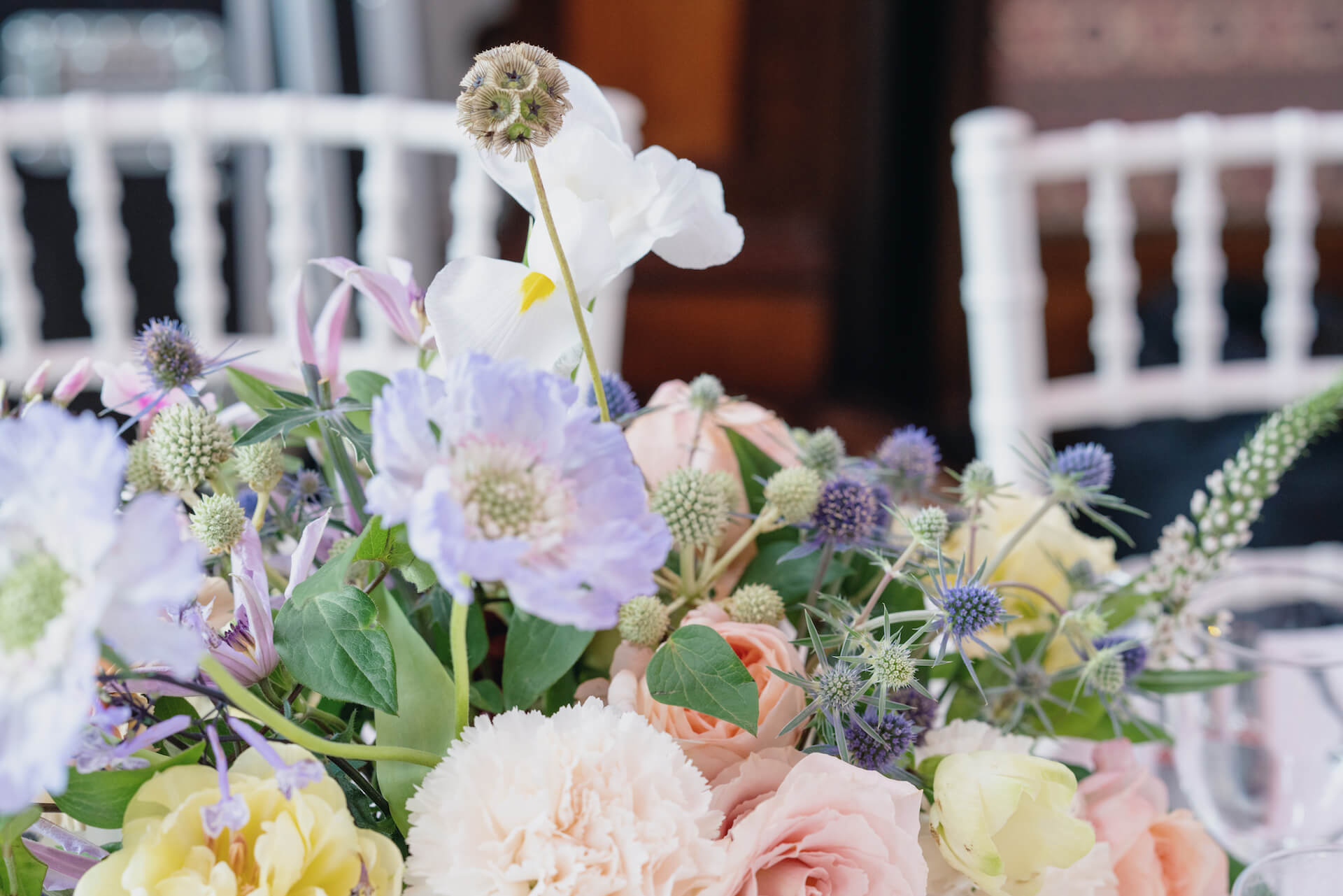 London Wedding Flowers at Thames Rowing Club