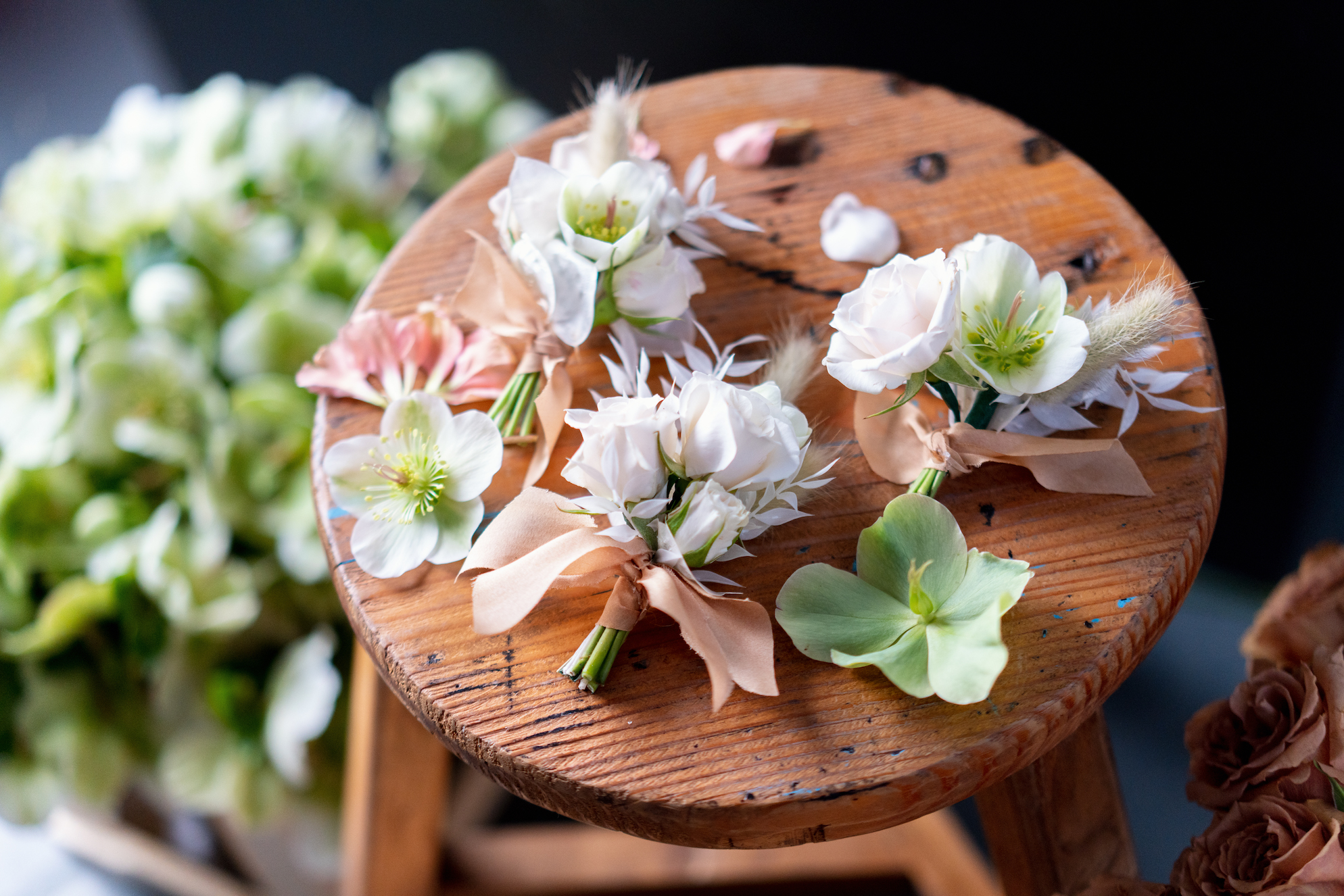 5eda0f147591044601d33829 handtied wedding corsages