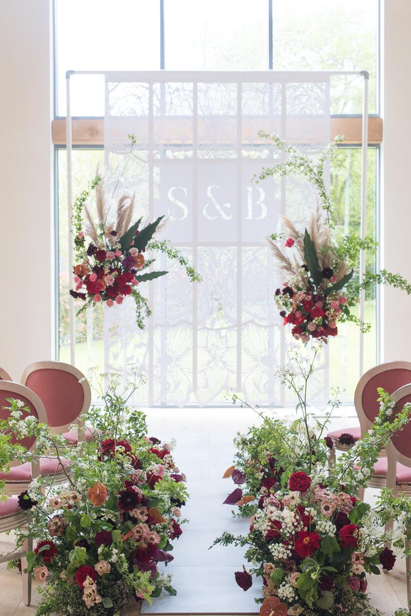 Modern Floral Installation