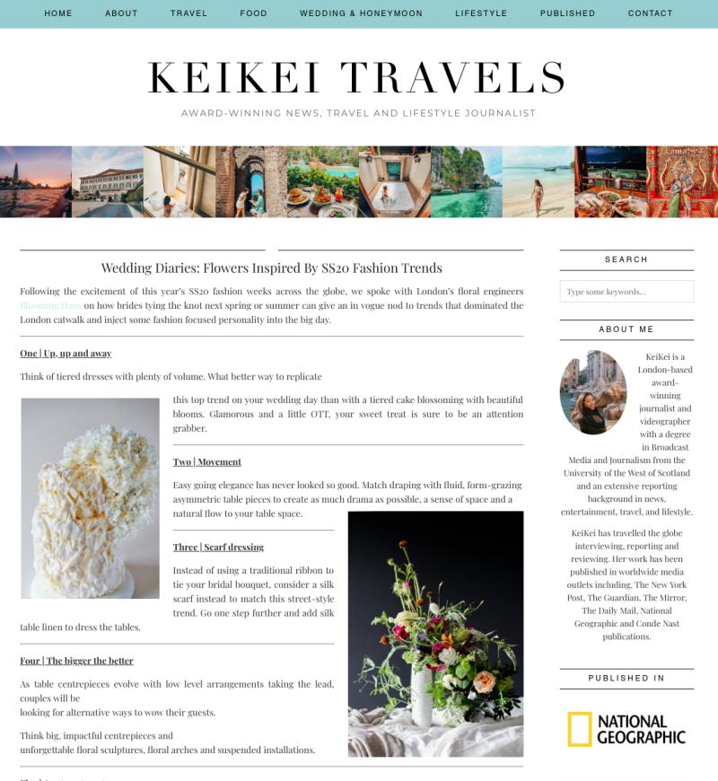 Keikei Travels