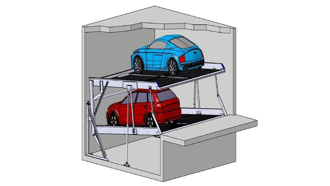 Stapelparker S1.6 3D