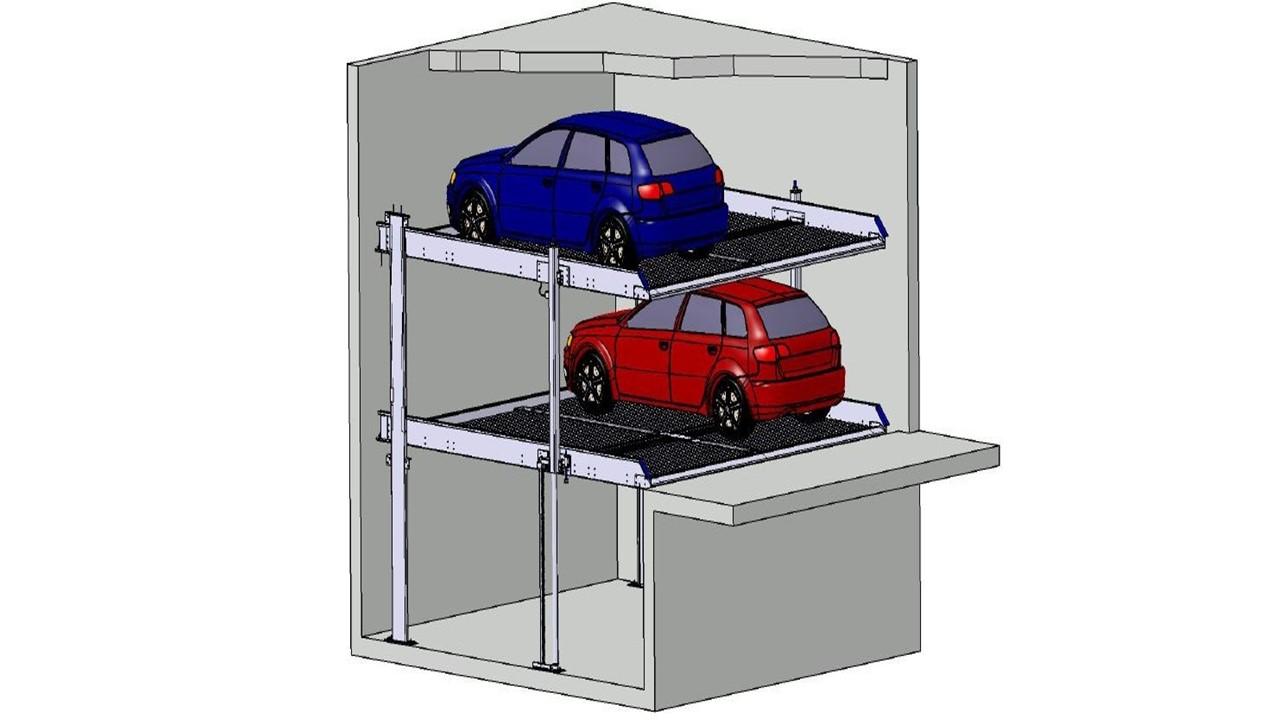 Stapelparker S2.2 3D