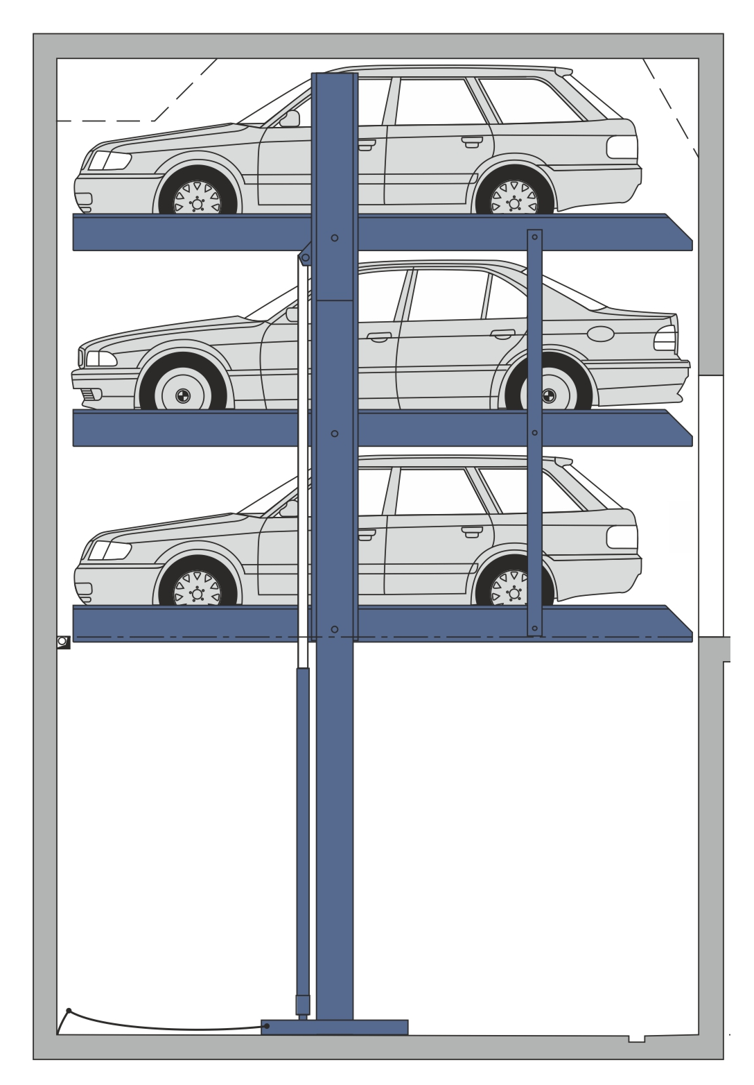 Stapelparker S3 2D