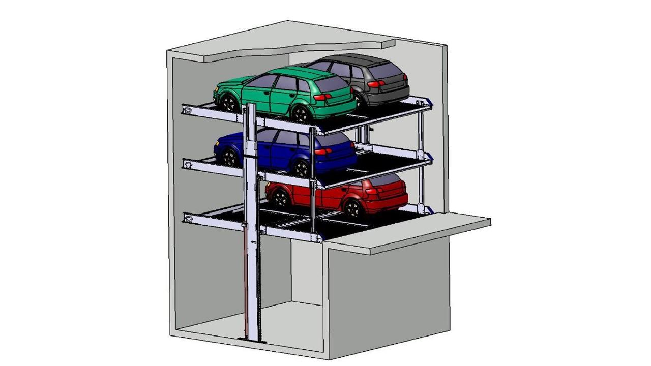 Stapelparker S3 3D