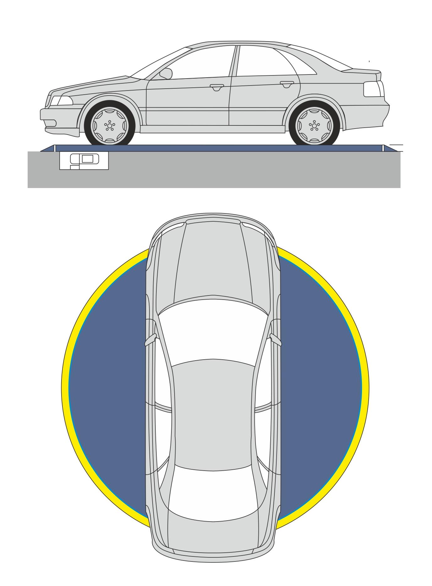 Drehplattform TT4,5