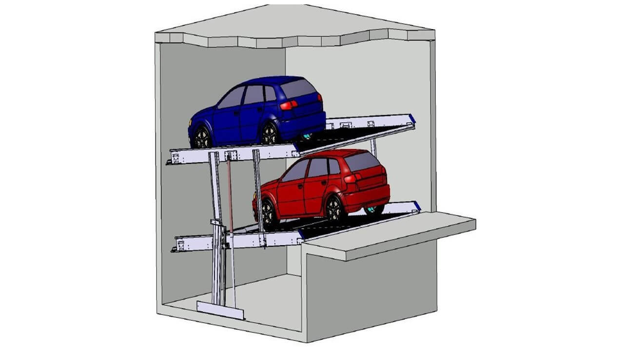 Stapelparker S1.8 3D