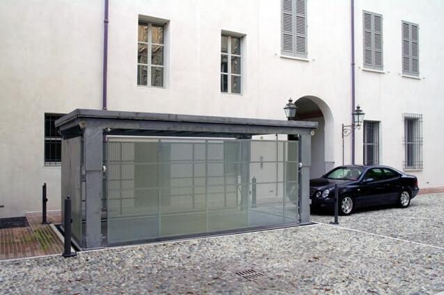 Versenkbare Garagen