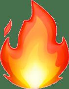 emoji fire