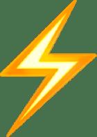 emoji thunder