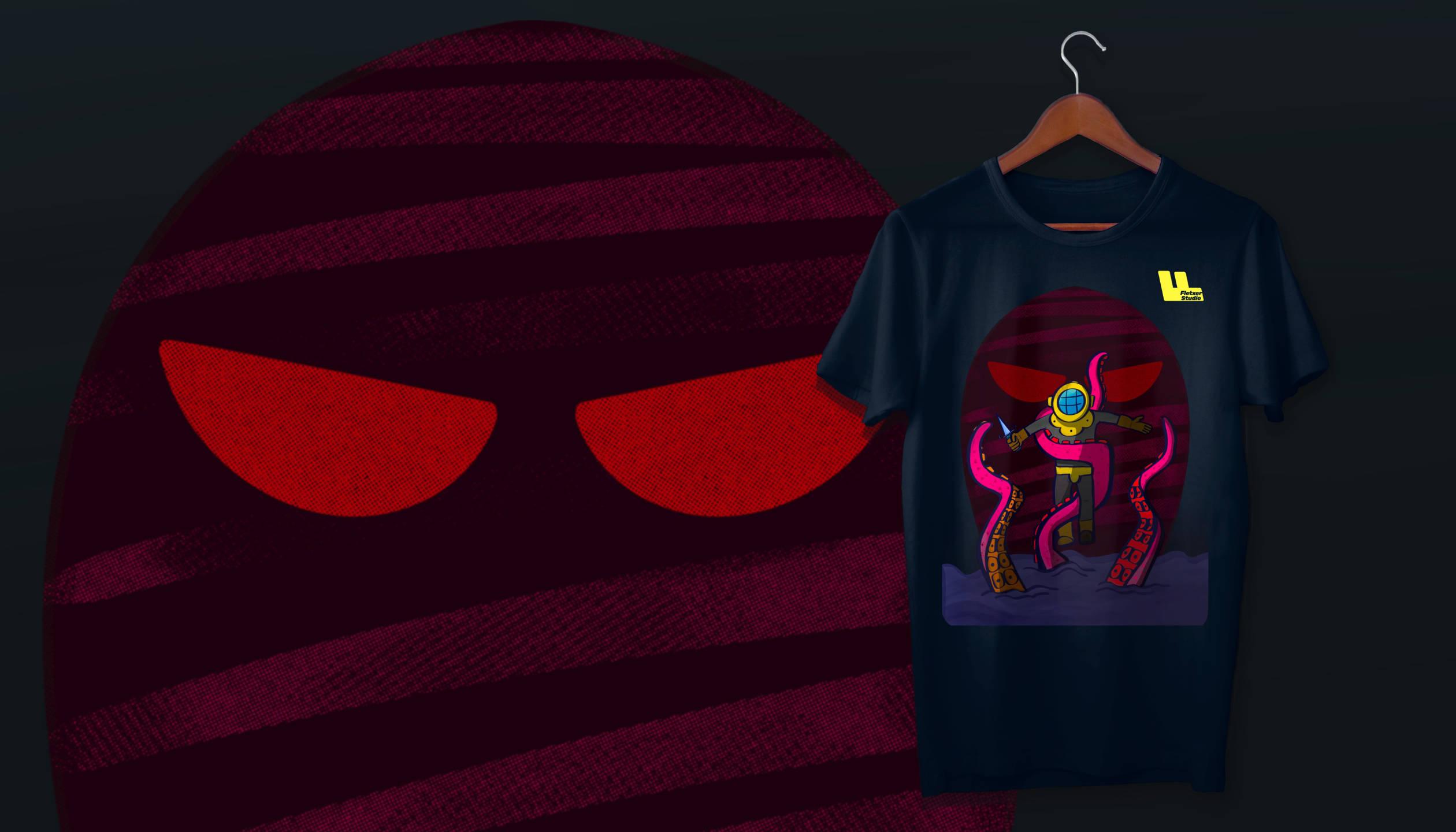 Buzo vs Pulpo Tshirt