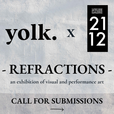 yolk x 2112 call for submissions graphic