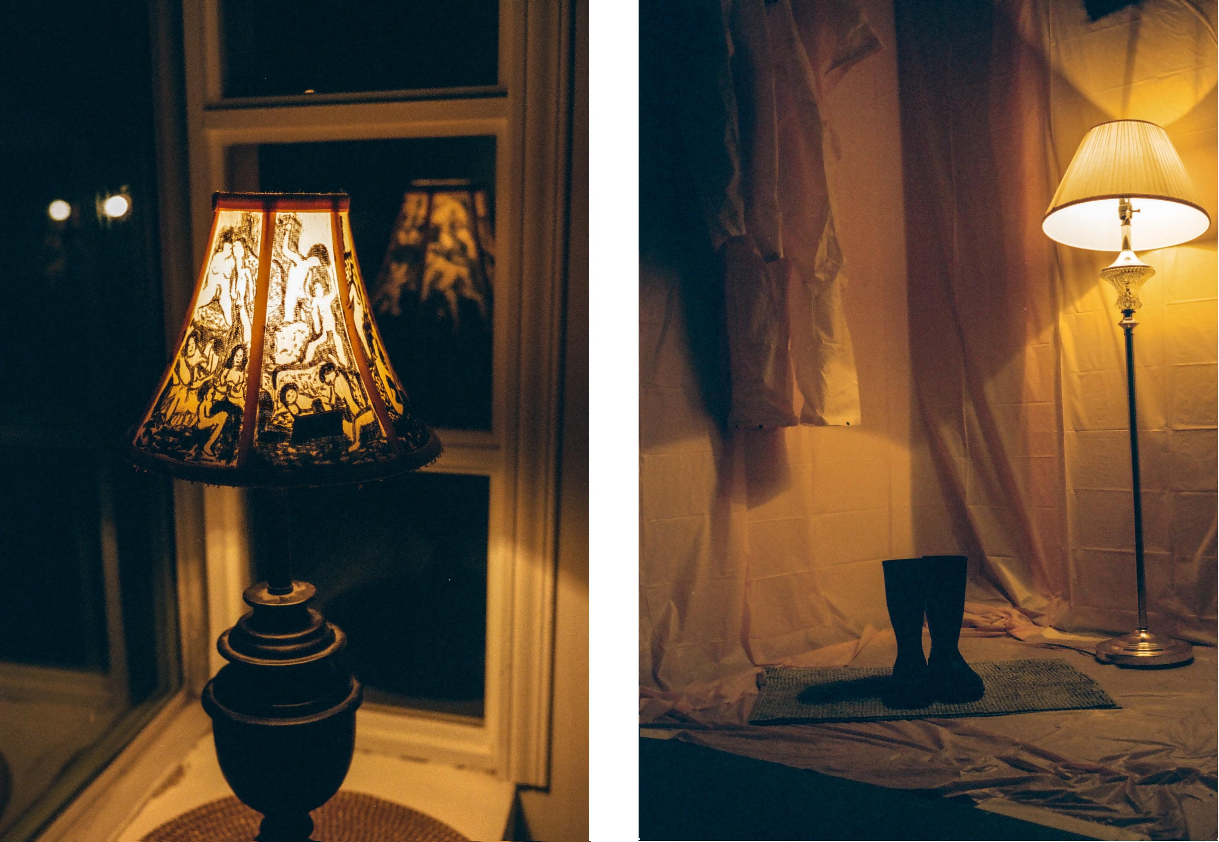 lamp art show