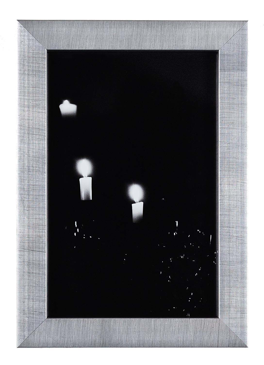 Black and White Candles Thanksgiving