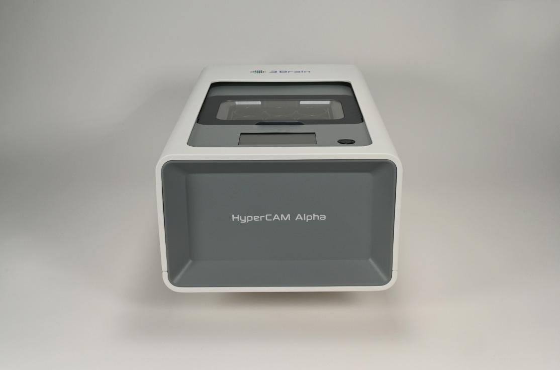 HyperCAM Alpha front view
