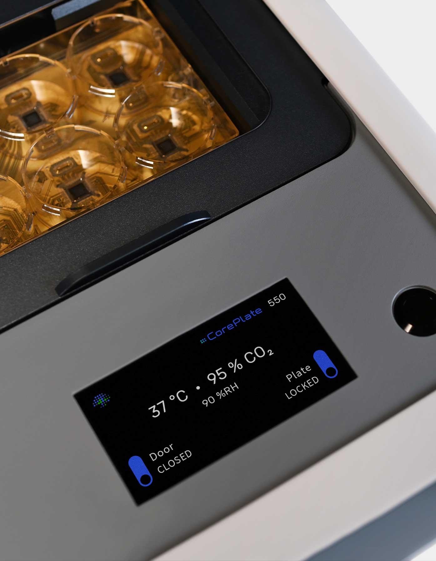 HyperCAM Alpha touch screen