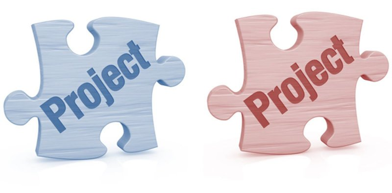 Development and delivery projects in project resourcing