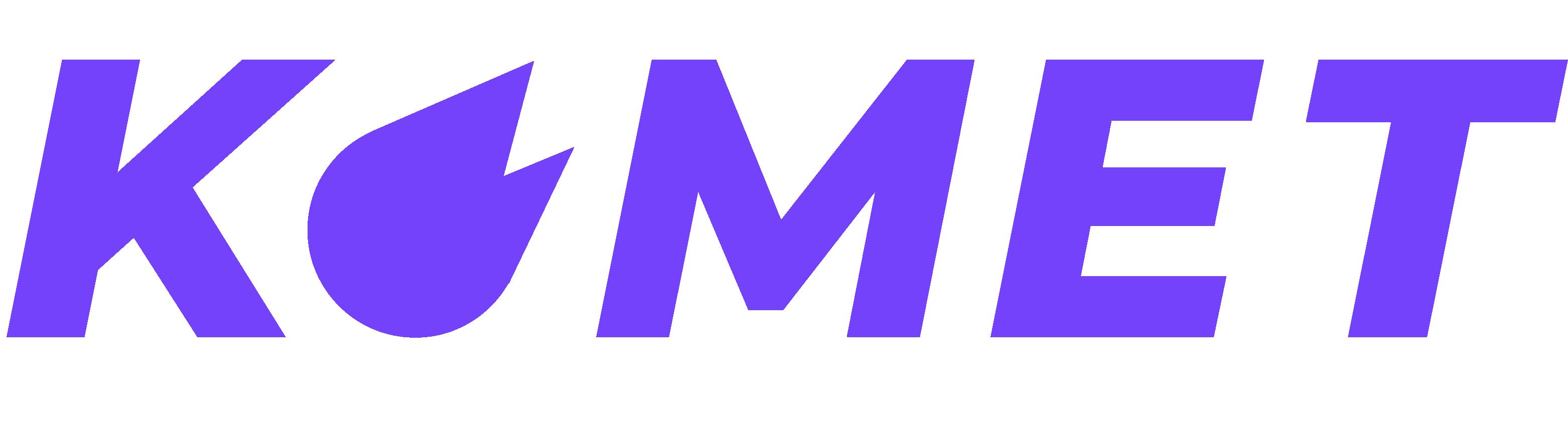 """Komet"" in purple"