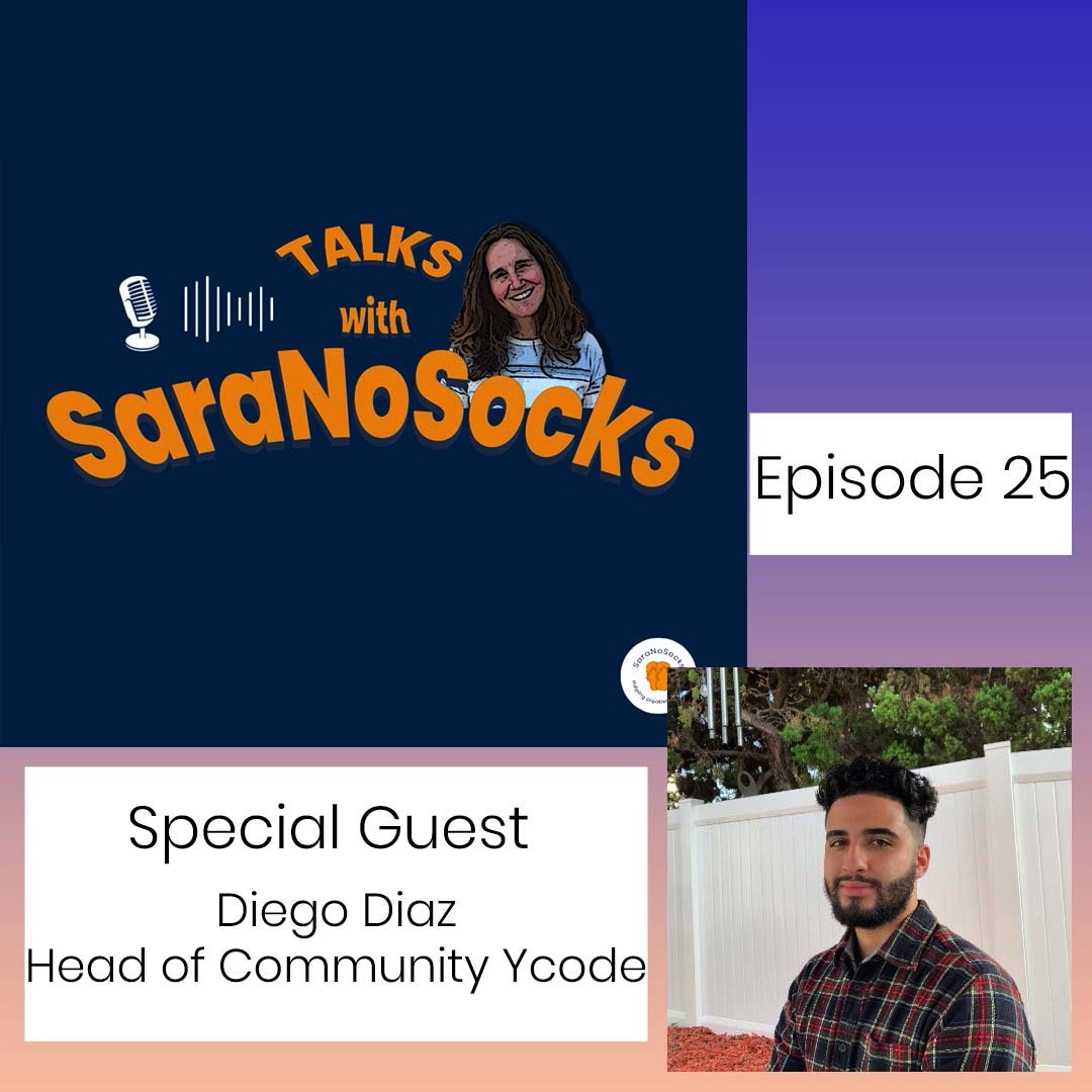 Ep 25: Interview with Diego Diaz, Head of Community at Ycode