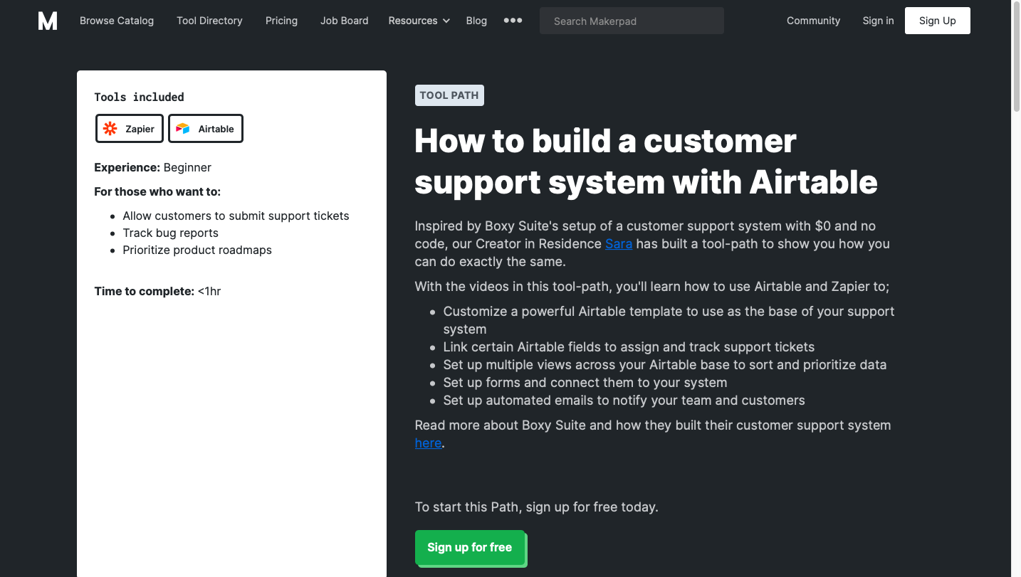 Build a Customer Support System with Airtable