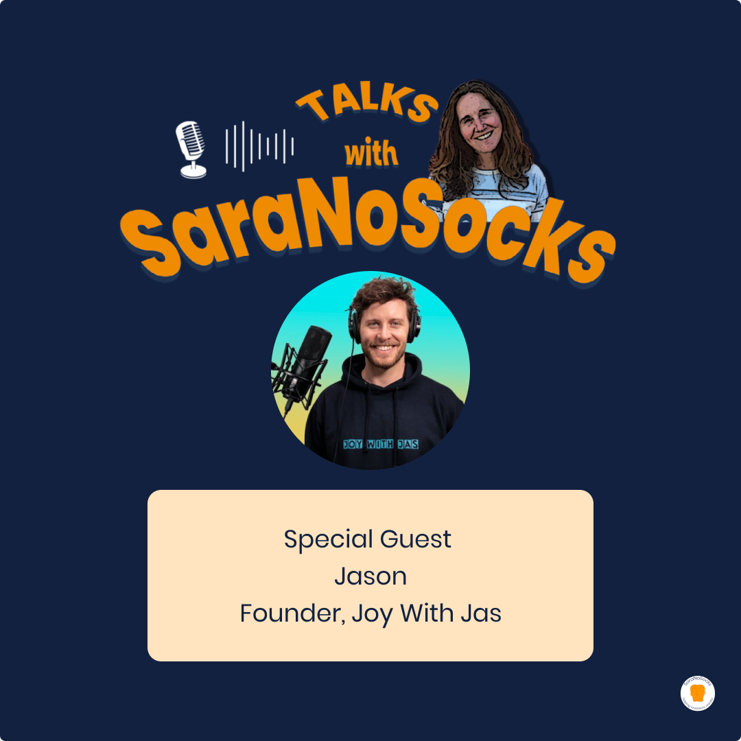 Ep 74: Interview with Jason, Founder Joy with Jas